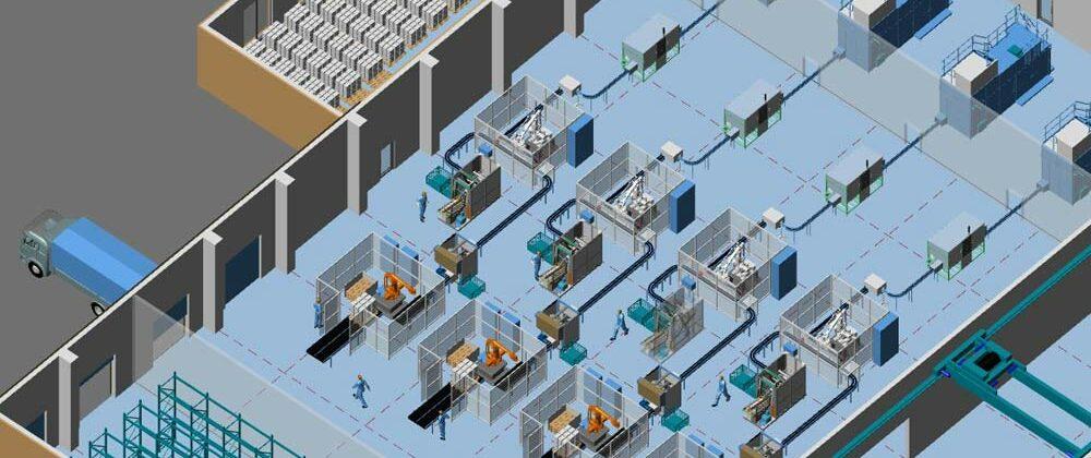 Fabrikplanung Fehler 1: Auf 3D-Planung verzichten