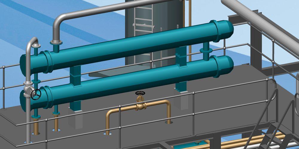 3D-Software für die professionelle Planung kompletter Anlagen und Fabriken