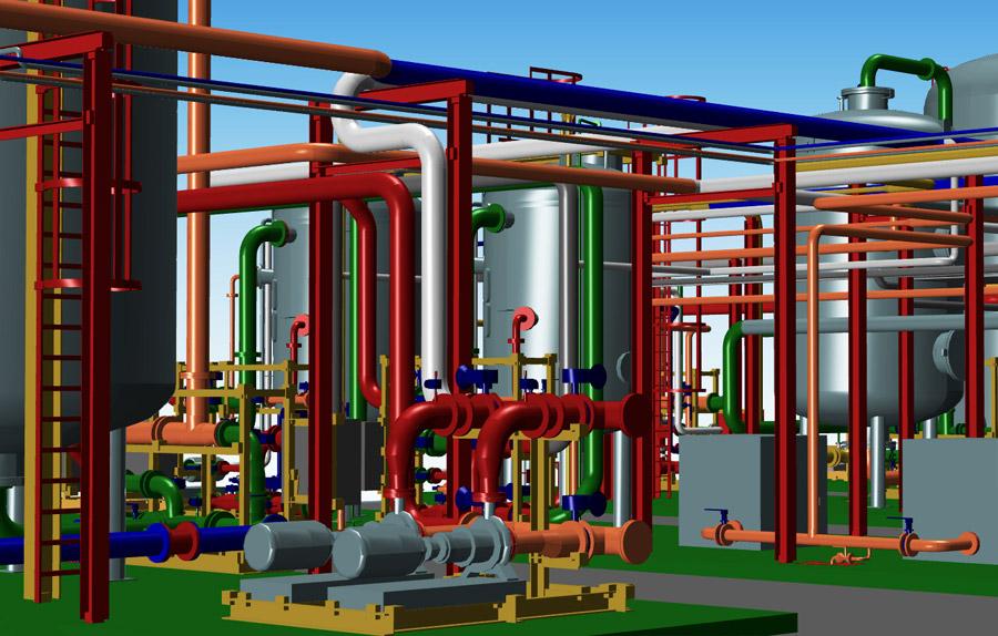 3d Rohrleitungsbau Software Rorleitungen Planen Mit Mpds4