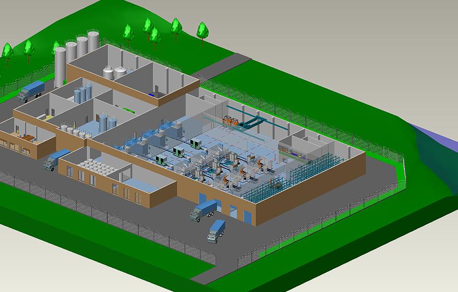 MPDS4 Fabrikplanungssoftware