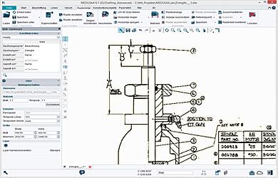 Rasterdaten in CAD-Zeichnungen – MEDRaster Colour