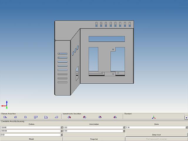 2D/3D Blechkonstruktion – MEDUSA4 SMD