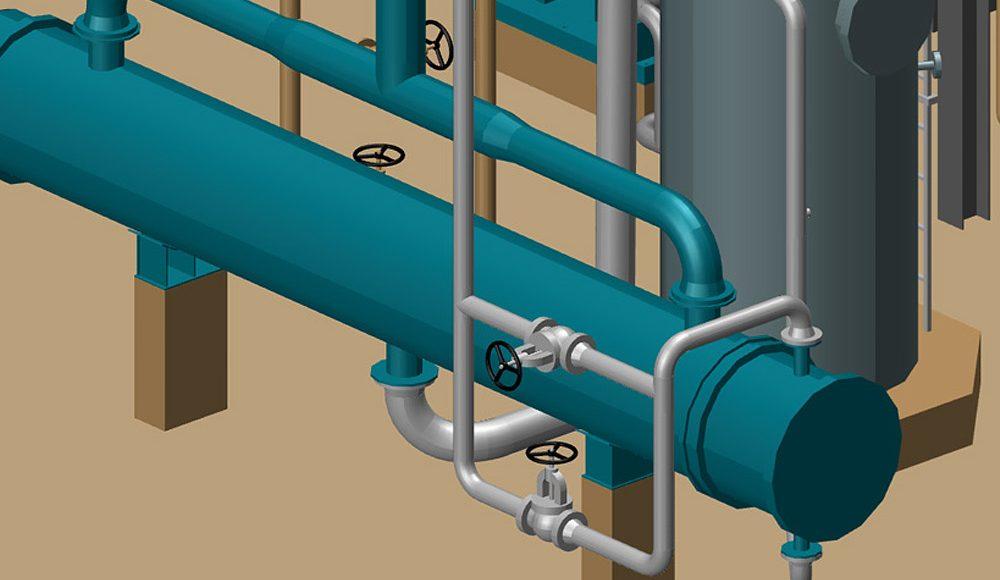 P&ID, Rohrleitungsbau, Isometrien und Stahlbau in einer Software
