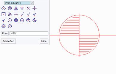 Prims in technischen Zeichnungen