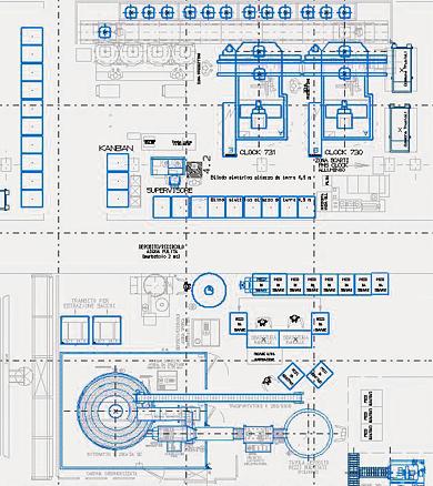 3D Fabrikplanung aus 2D Layout