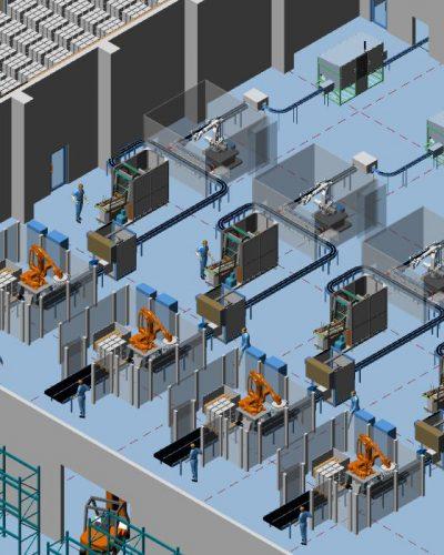 3D Fabrikplanung in wenigen Schritten