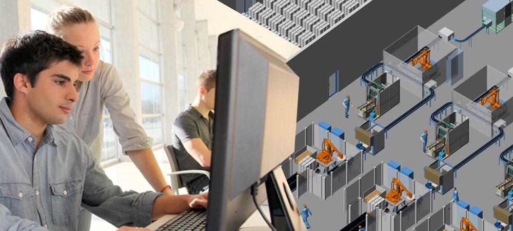 Digitale Fabrik für Unternehmen