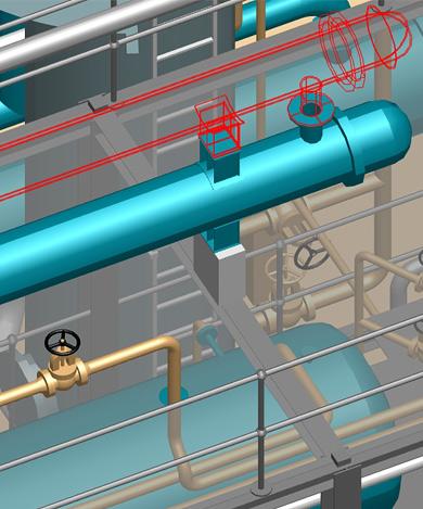 Mit 3D-Anlagenbausoftware Korrekturen während der Präsentation vornehmen