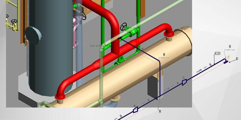Automatische Erzeugung von Rohrleitungsisometrien
