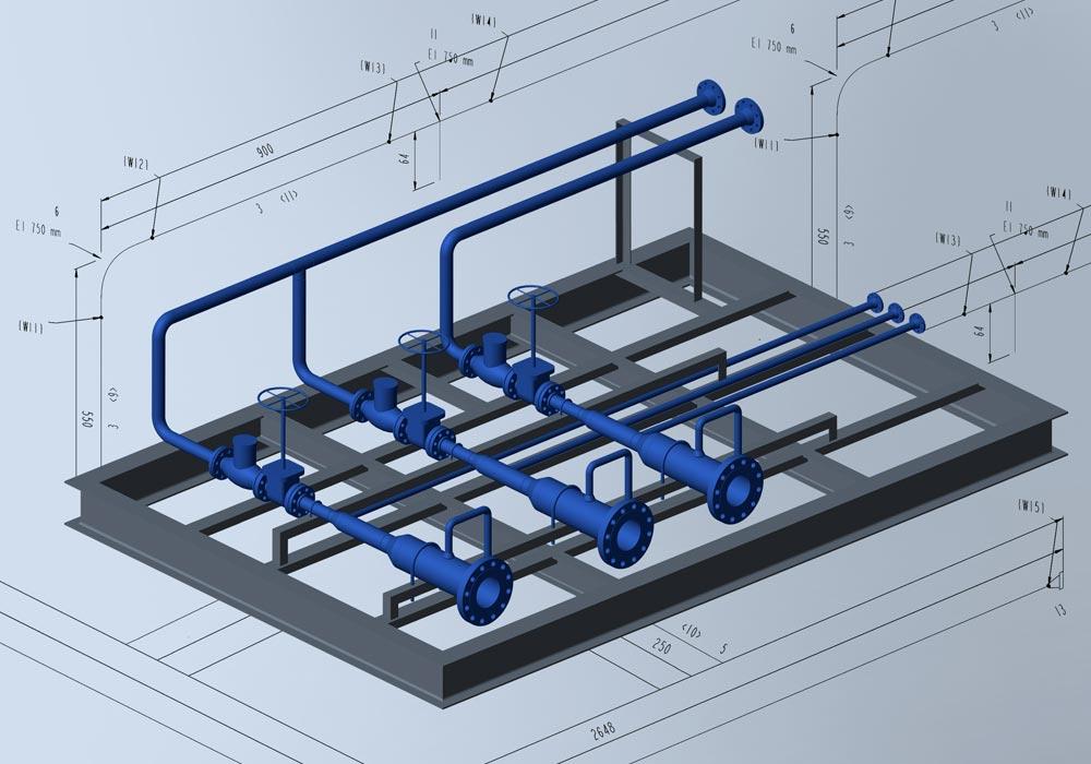 Ein einfacher Weg, Isometrien zu erstellen