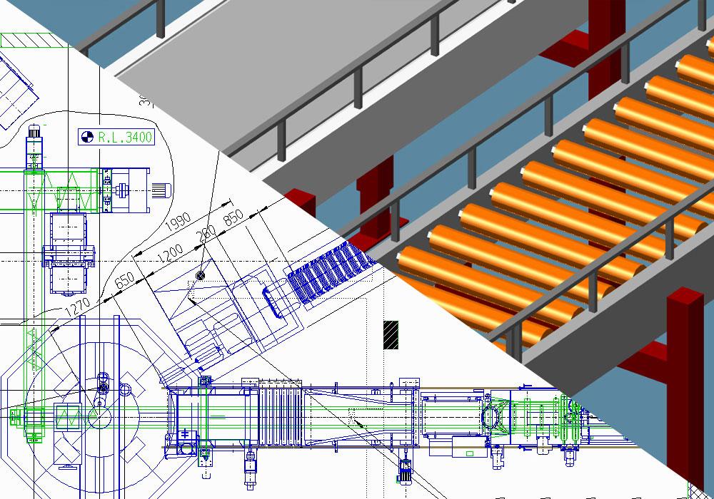 2D-3D Planung Layout Fabrikplanung