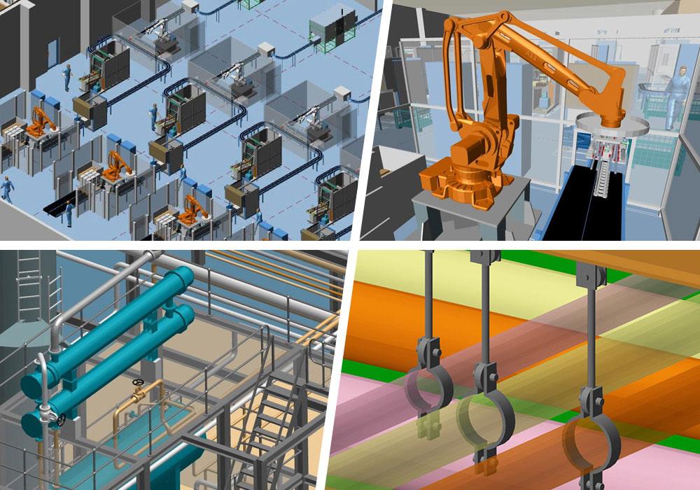 M4 PLANT Anlagenbau Fabrikplanung Software