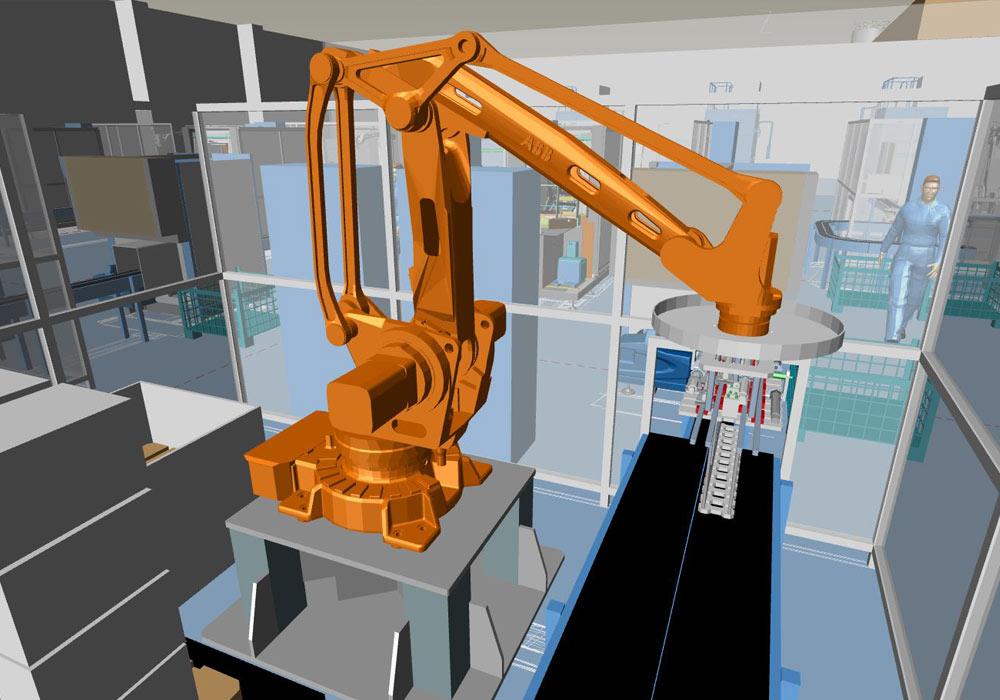 Maschinenaufstellung in 3D mit MPDS4