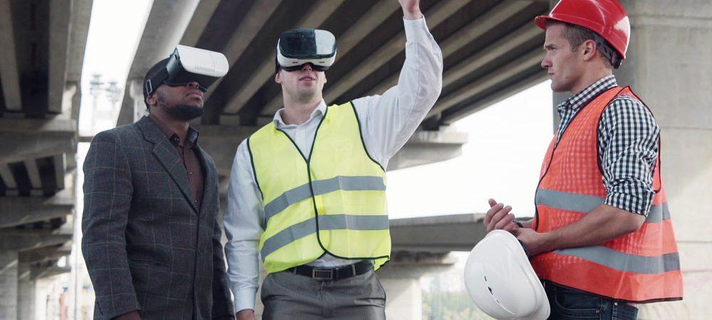 Virtual Reality auf der Baustelle