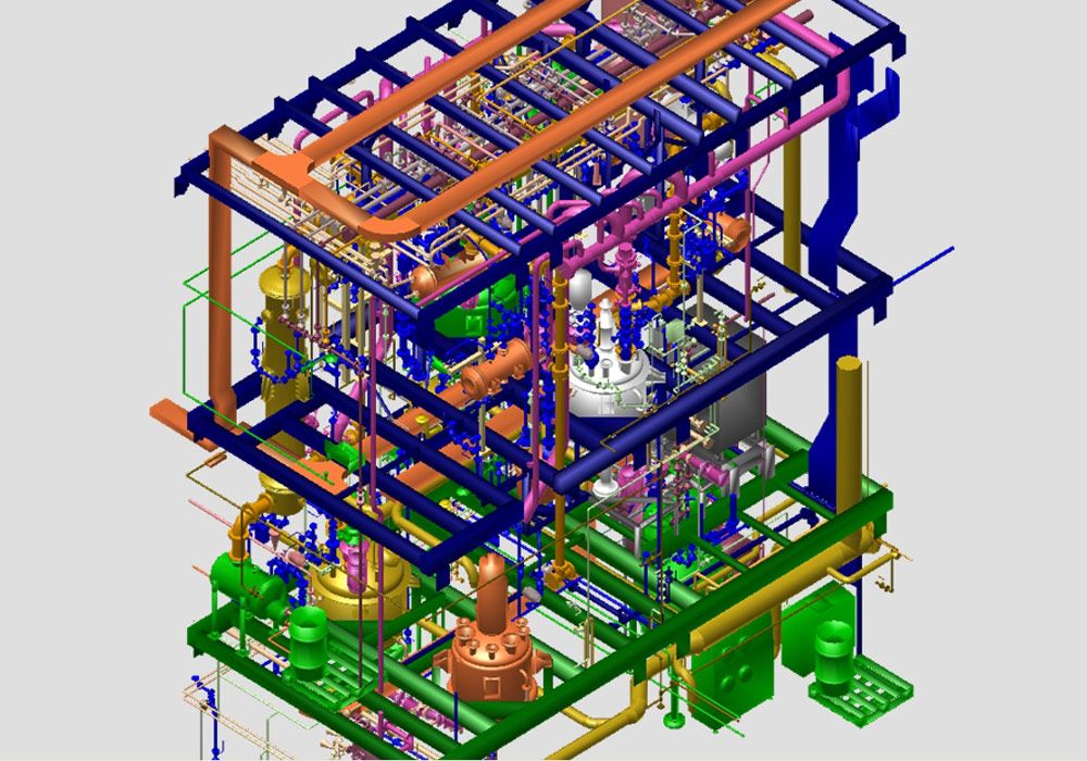 Der Anlagenbauer WSP CEL erstellt 3D-Prozessanlagen mit MPDS4