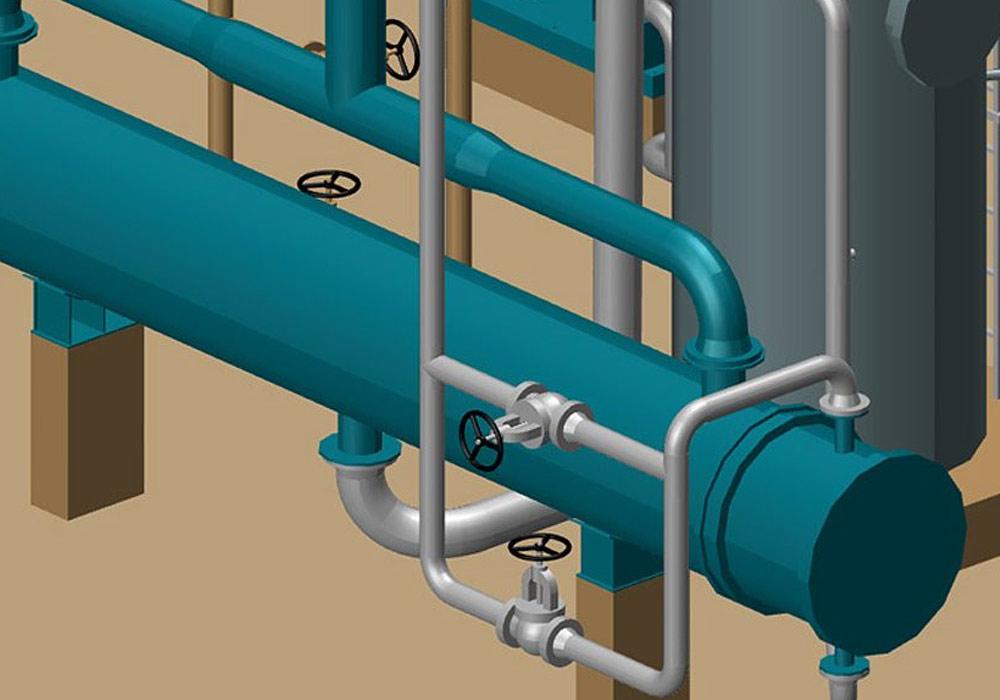 Mit MPDS4 gelingen schnelle Änderungen im 3D-Rohrleitungsbau