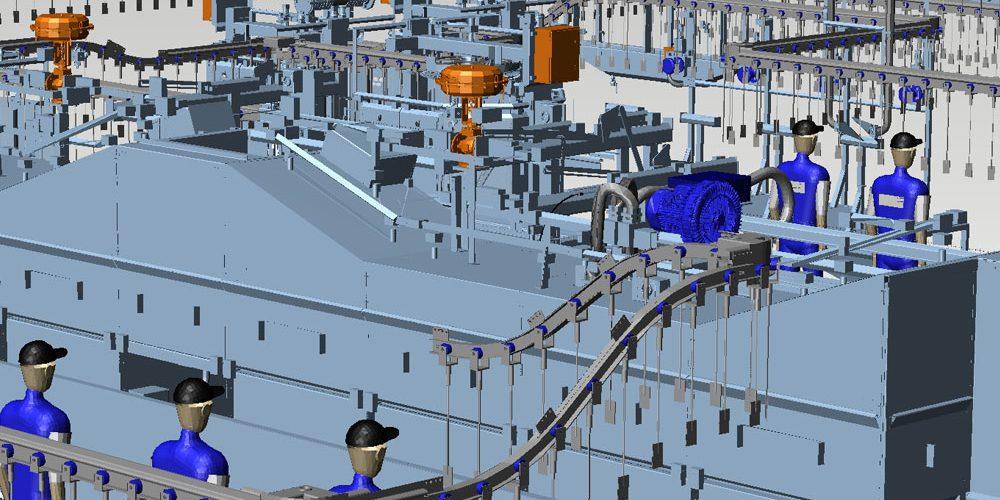 Fabriklayout-Fördertechnik-3D-MPDS4