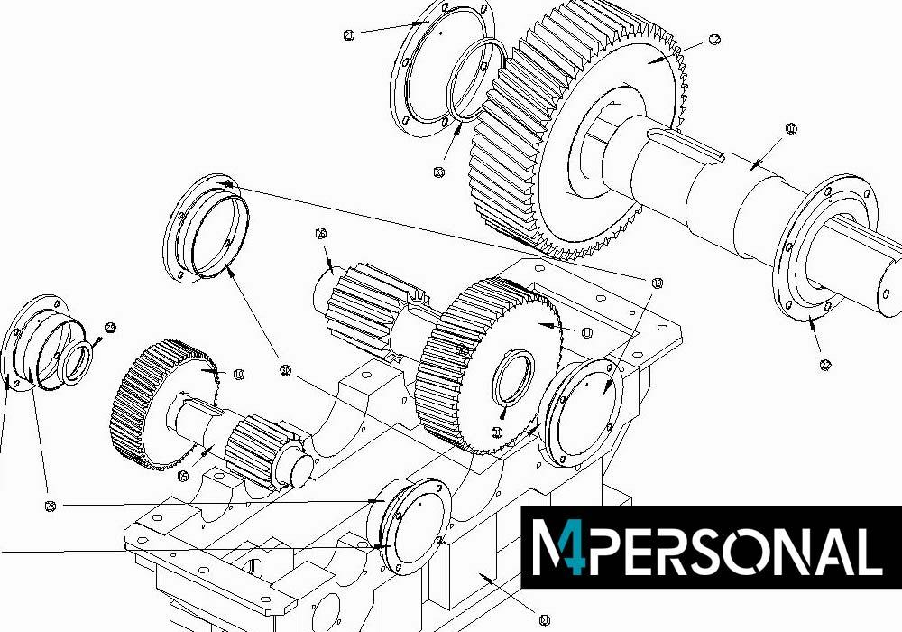 Kostenlosen CAD Software M4 PERSONAL herunterladen