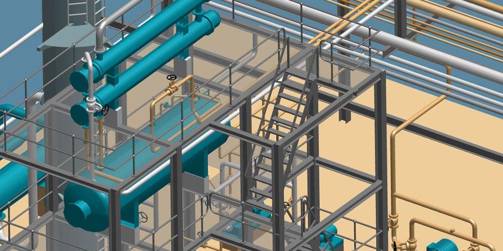 Größenunabhängige 3D-Planung im Anlagenbau
