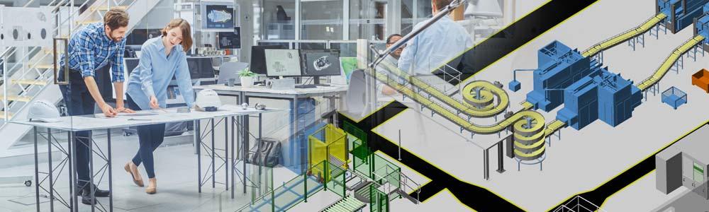 Mehr Funktionalitäten für den Fabrikplaner in M4 PLANT