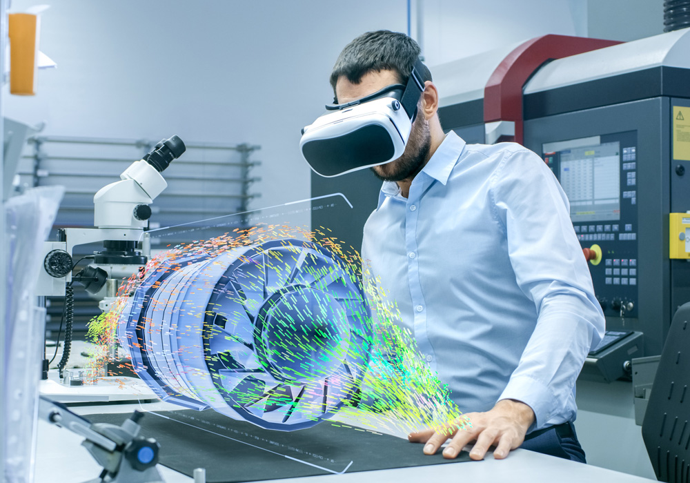 Teamarbeit in der Virtual Reality mit i4 VIRTUAL REVIEW