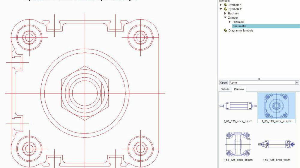 CAD-Symbole